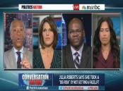 Jason Johnson and Al Sharpton on MSNBC