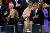 Beyonce. Barack Obama