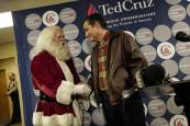 Ted Cruz Santa Claus